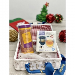 Christmas Gift Set A4 (Ronnefeldt Tea Couture + Finum Hot Glass)